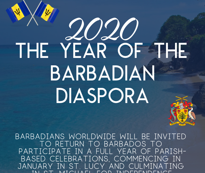 Prime Minister has designated 2020 as the Year of the Barbadian Diaspora